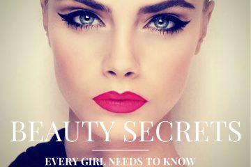 10 Best Celebrity Beauty Secrets Revealed